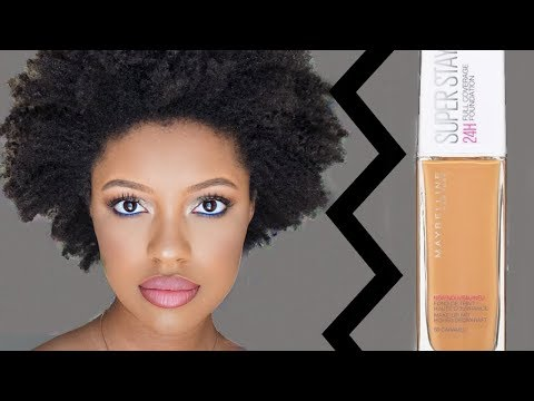 GUNMETAL SMOKEY EYE TUTORIAL / MAYBELLINE SUPERSTAY FULL COVERAGE FOUNDATION REVIEW