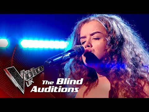 Saskia Eng Performs 'Strong': Blind Auditions | The Voice UK 2018