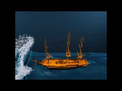 Ship - Fluid simulation with foam
