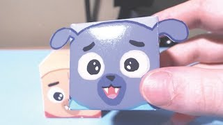 Paper Craft Toy of Puppy Dog Pals Bingo - How to - Disney Junior Doodles
