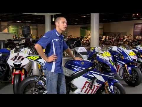 Valentino Rossi talks about the Yamaha M1 from 2004-2009