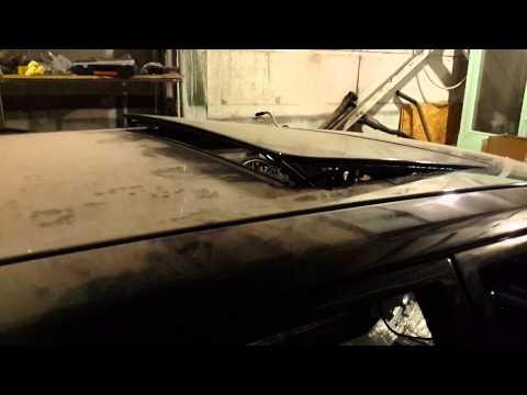 Как сделать люк на мерседесе 124