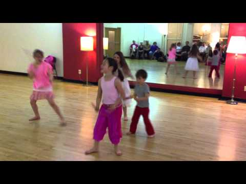 Bollywood Dance Scene - Twin Cites: Kids At Tapestry's 30th Birthday Party! video