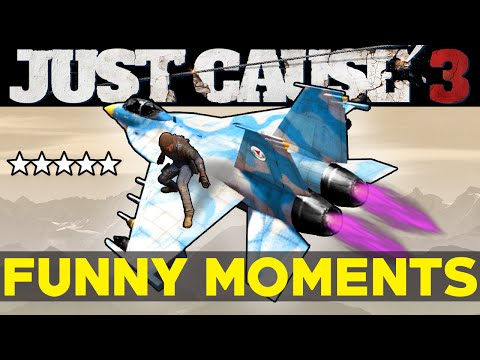 Just Cause 3: Funny Moments EP.3 (JC3 Epic Moments Funtage Montage Gameplay)