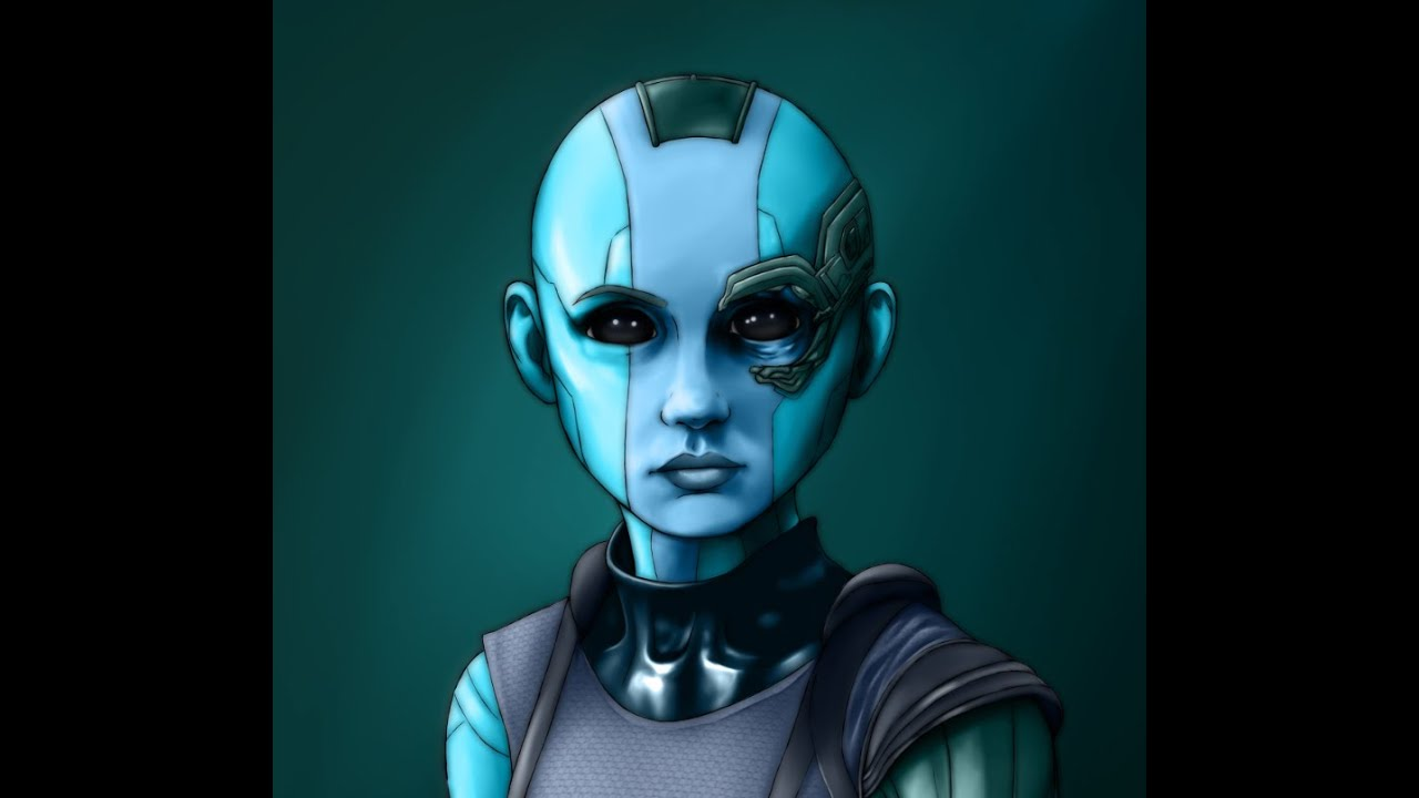 gardians nebula face - photo #16