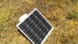 Sistema de riego Solar para finca sin electricidad