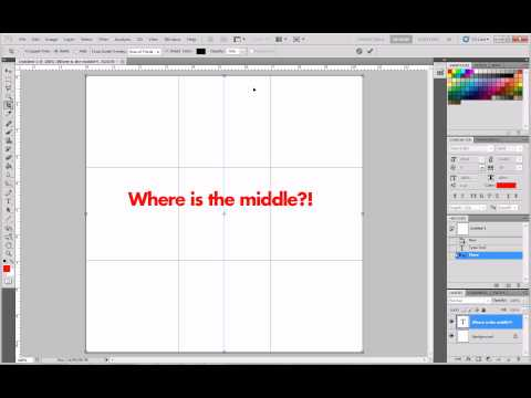 Photoshop Tips & Tutorials #1 'Guidelines'