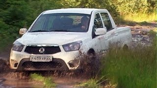 OFFROAD SSANGYONG Actyon Sports 2.0TD AT6 part time 4WD