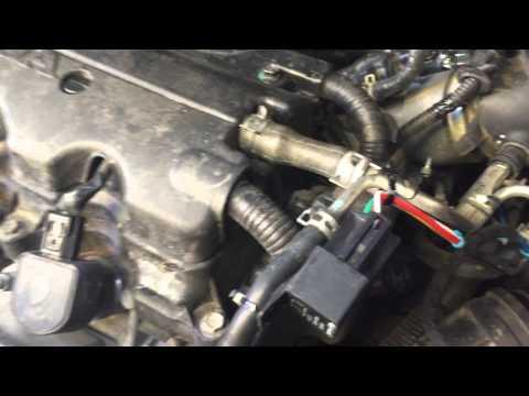 Gasoline vaporizer kit installed