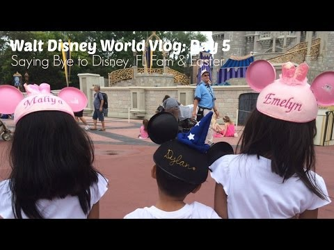Walt Disney World Vlogs: Day 5 Saying Bye to Disney, FL Fam & Easter (week #69e)