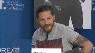 Tom Hardy Shuts down Sexist Journalist#SmartAss#Sexist#Journalist#TomHardy