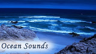 Sleep With Ocean Sounds At Night No Music Relaxing Rolling Waves For Sleeping