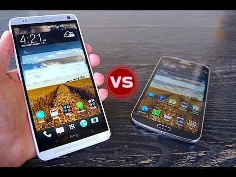 HTC One max vs Galaxy Mega