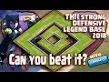 UNDEFEATED BEST TH11 STRONG DEFENSIVE LEGEND BASE 2018 REPLAY | ANTI 0 STAR BASE/ANTI EVERYTHING