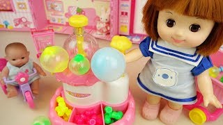 Baby Doll and balloon maker jewelry maker toys play