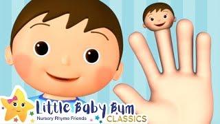 Finger Family Song + More Nursery Rhymes & Kids Songs - Little Baby Bum