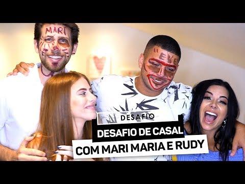 DESAFIO DE CASAL COM MARI MARIA E RUDY - parte 2
