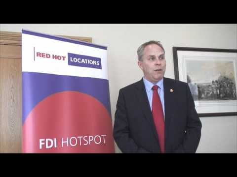 Neil Crockett at Red Hot Locations World Forum for Foreign Direct Investment 2011