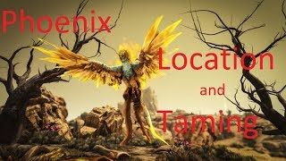 Ark Phoenix Location and Taming (Patch 268.11)