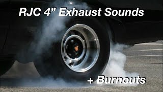 "Buick Grand National 4"" Exhaust and Burnouts"