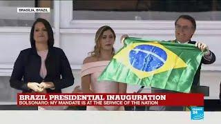 REPLAY - Watch Brazil's president Jair Bolsonaro's inaugural ceremony