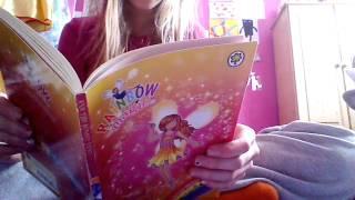 Reading Ava The Sunset Fairy Rainbow Magic