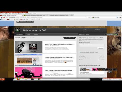 Descarga gratis fondos para el nuevo diseño de youtube (HD) 2012.