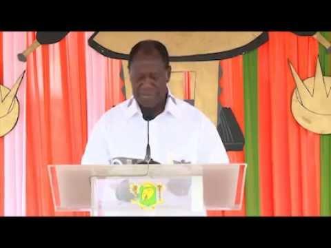 Discours du Président Alassane OUATTARA à Agboville