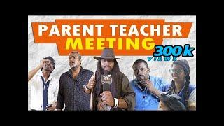 Parent Teacher Meeting | Students as Parents | School Life | Veyilon Entertainment