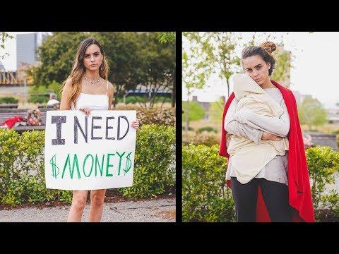 Download Rich Girl vs Poor Mom Social Experiment Mp4 baru