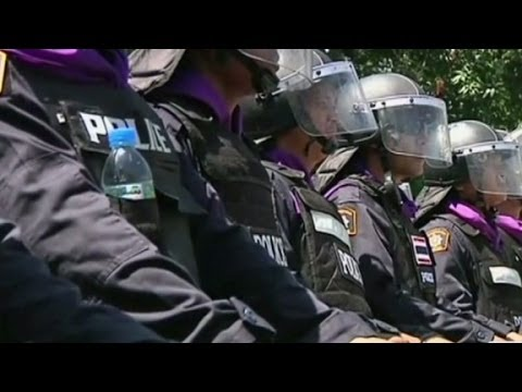 Thai politics: half a coup as military announces martial law?