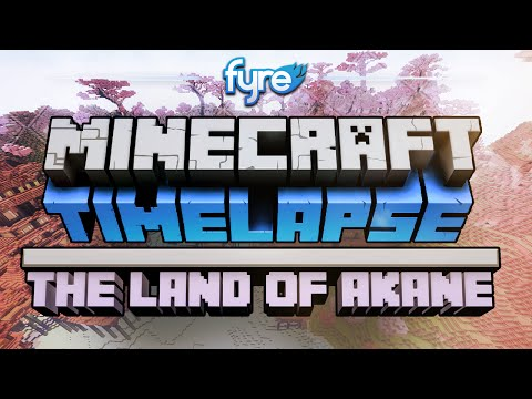 Minecraft Timelapse – The Land of Akane – 2MineCraft.com