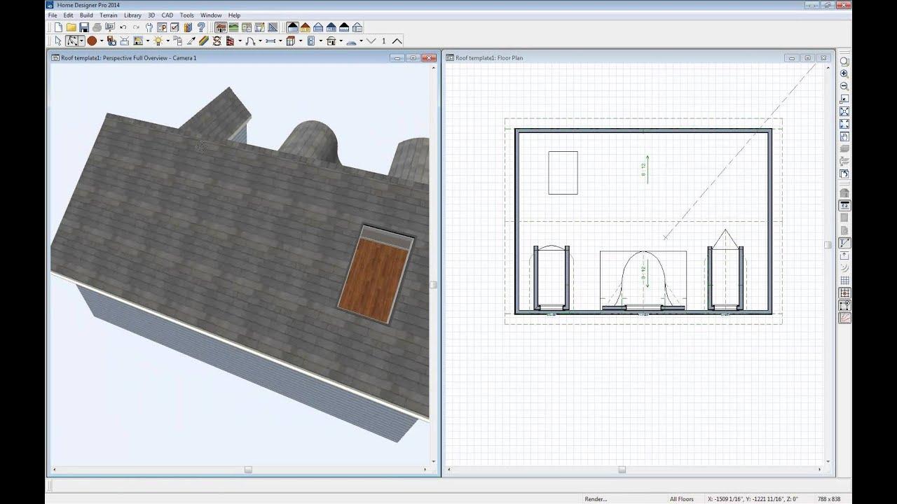 Home Designer Software Custom Roof Webinar Youtube