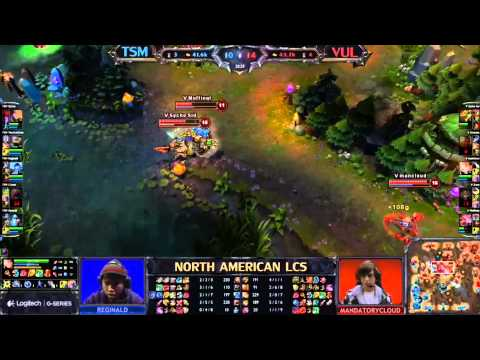 Team SoloMid vs VUL LCS 2013 NA Spring W4D2 FULL GAME