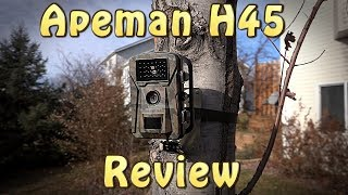 Apeman Trail Camera Review - H45
