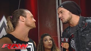 Dolph Ziggler challenges Baron Corbin to a technical wrestling match: Raw, May 23, 2016