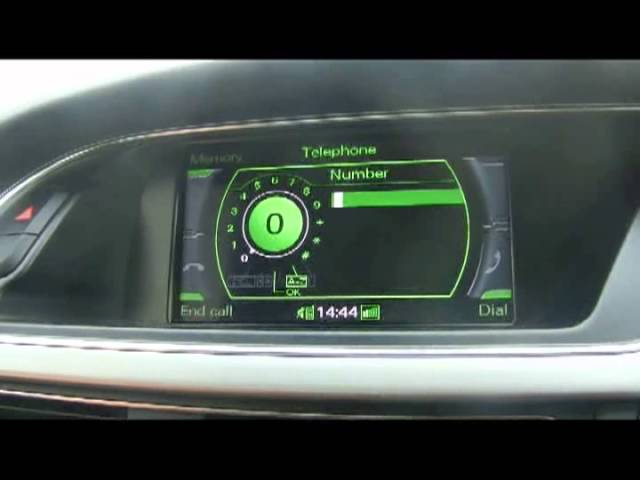 How to pair mobile phone via Bluetooth in Audi A4/A5/A6 ...