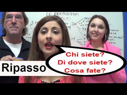 Corso di Italiano in Italia - One World Italiano Video Corso - Lezione 12
