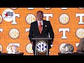 Tennessee coach Josh Heupel on what it's going to take to beat Alabama