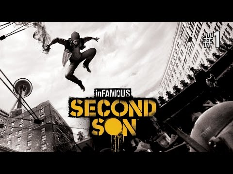 Twitch Livestream | inFAMOUS Second Son Part 1 [PS4]