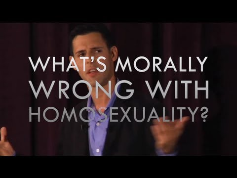 Why Is Homosexuality Wrong?