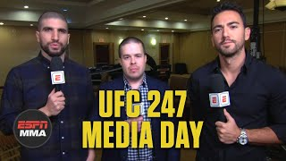 Breaking down UFC 247's media day | ESPN MMA
