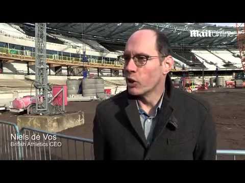 Mo Farah launches Sainsbury's...