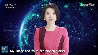 Xinhua unveils world's first female AI news anchor