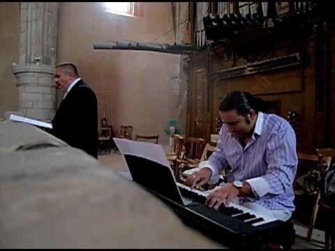 Antonio Luis Suárez, órgano, Juan Carlos Martos, tenor, Ave María, Caccini