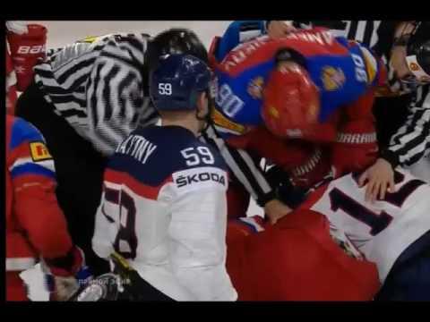 Чемпионат мира по хоккею 2017. Россия-Словакия счет 1:0 Драка возле ворот сборной России