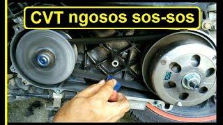 Suara Kasar Pada CVT Honda Beat