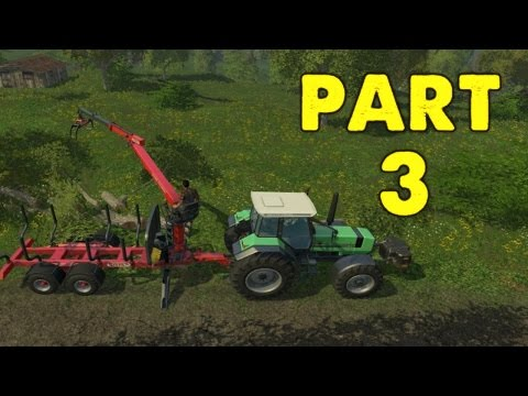 Farming Simulator 2015 Gameplay Walkthrough Playthrough Part 3: Not Enough Power (PC)