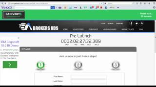 How to earn money from Paidverts for free (video tutorial)