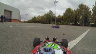 Gopro RC RallyGame Hyper 7 & Mugen Mbx5r Burnouts